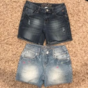 Justice shorts size 10R